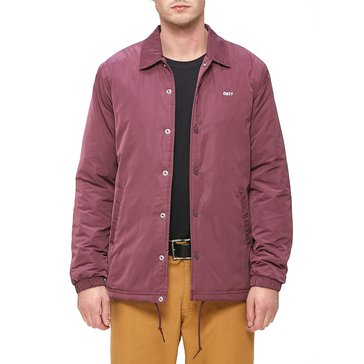 Obey Clothing Men's Sanction Coaches Jacket