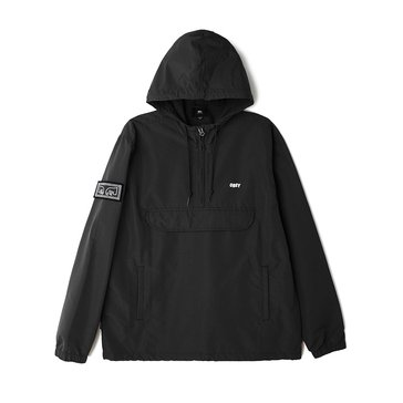 Obey Clothing Men's Crosstown Anorak Nylon Jacket