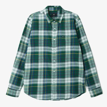 Obey Clothing Men's Aiden Long Sleeve Flannel Shirt