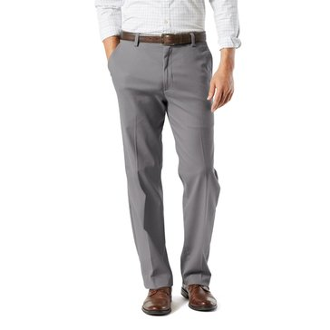 Dockers Men's Easy Khaki Stretch Classic Fit Flat Front Pants