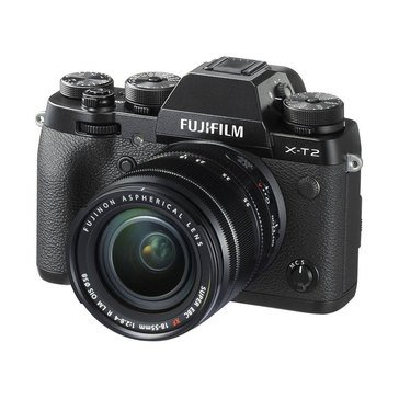 Fuji Mirrorless X-T2 Dig Camera W/18-55MM Lens - Black (16519314)