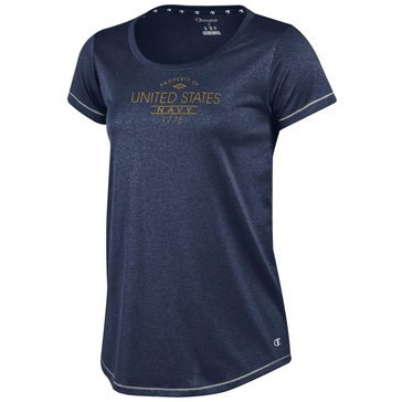 Champion Women's Prop Of USN 1775 Short Sleeve Performance Tee
