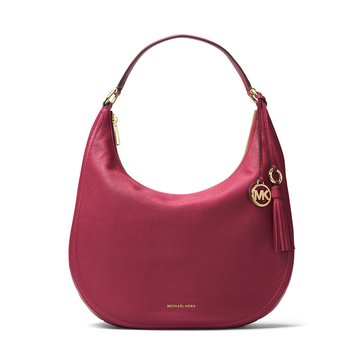 Michael Kors Lydia Large Hobo Mulberry
