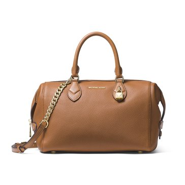 Michael Kors Grayson Large Convertible Satchel Acorn
