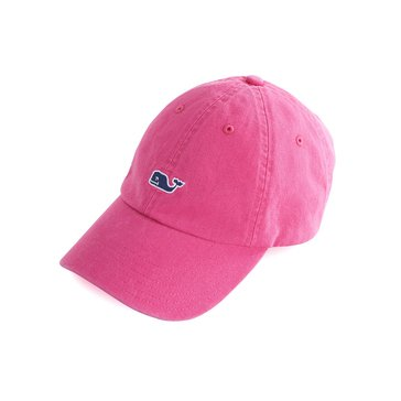 Vineyard Vines Classic Washed Baseball Hat in Rhododendron