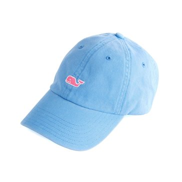 Vineyard Vines Classic Washed Baseball Hat in Cornflower Blue