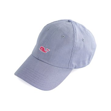 Vineyard Vines Oxford Baseball Hat in Moonshine