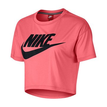 Nike Women's Essential Cropped Short Sleeve Top