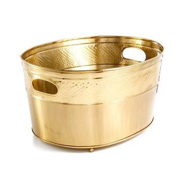 Martha Stewart Collection Gold Beverage Tub