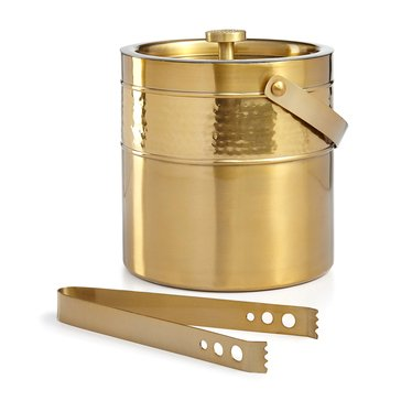 Martha Stewart Collection Gold Ice Bucket