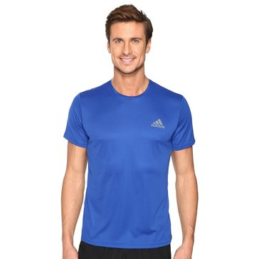 Adidas Men's Essentail Tech Tee in Royal