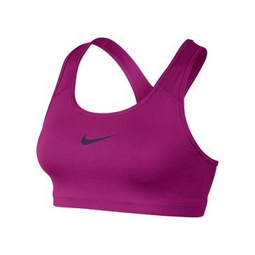 Nike Women's Swoosh Sports Bra in Magenta