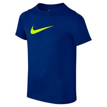 Nike Big Boys' Swoosh Solid Tee