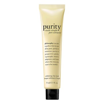 Philosophy Purity Made Simple Pore Extractor Mask 2.5oz