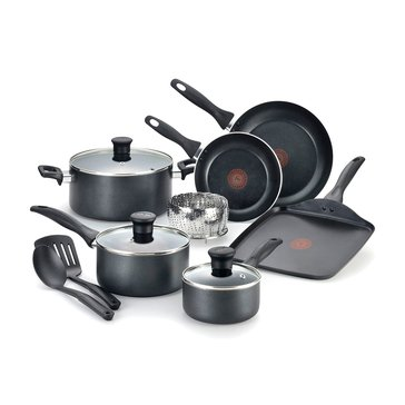 T-Fal Easy Care 12-Piece Non Stick Cookware Set