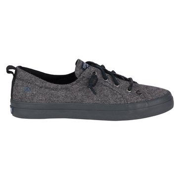 Sperry Top-Sider Crest Vibe Tweed Women's Sneaker Dark Grey