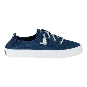 Sperry Top-Sider Crest Ebb Women's Sneaker Navy/ Floral Denim