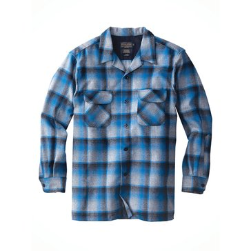 Pendleton Men's Board Shirt Jacket - Blue Plaid