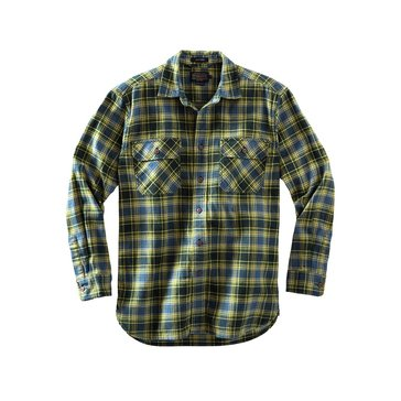 Pendleton Men's Burnside Twill Shirt - Green Plaid