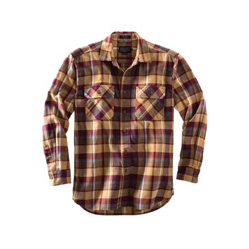 Pendleton Men's Burnside Twill Shirt - Bronze Plaid