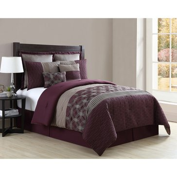 Harbor Home Gold Collection 8-Piece Comforter Set, Carter - Queen