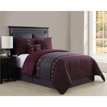Harbor Home Gold Collection 8-Piece Comforter Set, Gabriella - Queen