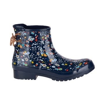 Sperry Top-Sider Walker Turf Women's Mid Cut Rainboot Navy Floral