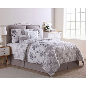 Harbor Home Gold Collection 8-Piece Comforter Set, Willa - King