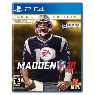 PS4 Madden NFL18 - G.O.A.T. Edition