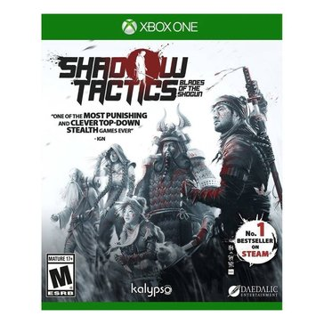 XBox One Shadow Tactics: Blades of Shotgun
