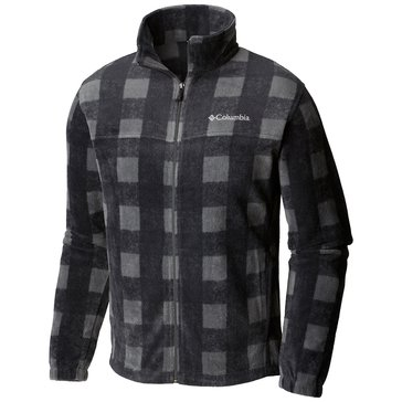 Columbia Men's Steens Mountain Printed Jacket - Shark Buffalo