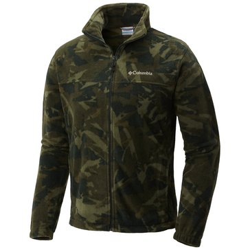Columbia Men's Steens Mountain Printed Jacket - Woods Camo