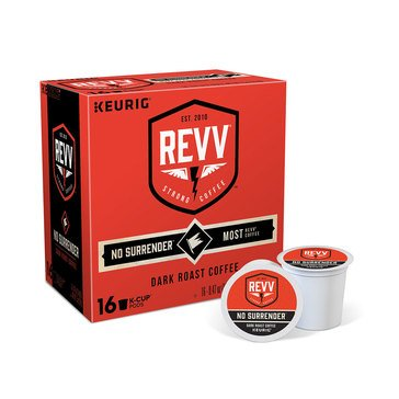 REVV NO SURRENDER Keurig K-Cup, 16 Count