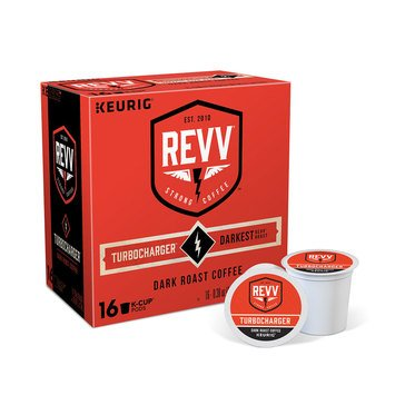 REVV TURBOCHARGER Keurig K-Cup, 16-Count