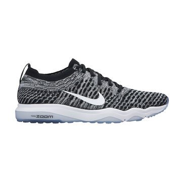 Nike Air Zoom Fearless Flyknit Lux Women's Training Shoe - Black / White / Cool Grey / Dark Grey