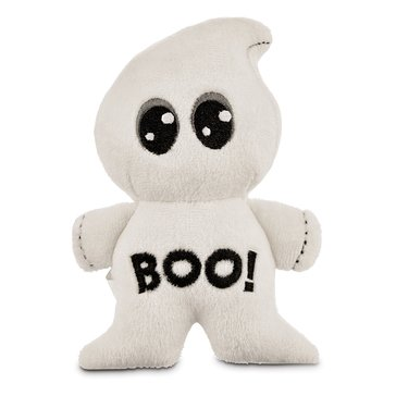 Halloween Boo Ghost Plush Dog Toy, Small