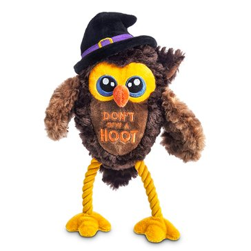 Halloween Owl Rope Legs Dog Toy, Large