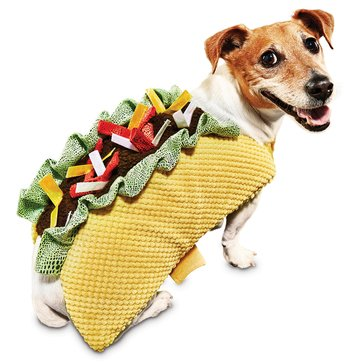 Halloween Taco Dog Costume, Small