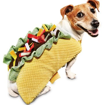 Halloween Taco Dog Costume, Large
