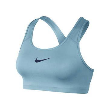 Nike Women's Swoosh Sports Bra in Blue