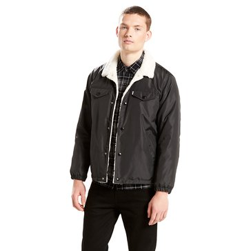 Levi's Men's Sherpa Coaches Trucker Jacket