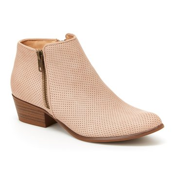Union Bay Tara Perforated Bootie Blush