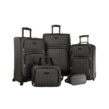 Chaps Alvaston 5-Piece Luggage Set - Herringbone
