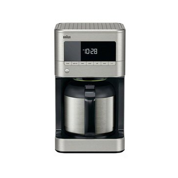 Braun BrewSense 10-Cup Drip Coffee Maker with Thermal Carafe  (KF7175SI)