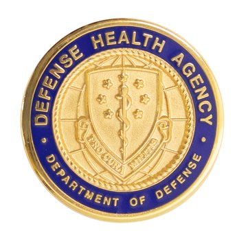 Lapel Pin Button DOD Health Agency PRO CURA