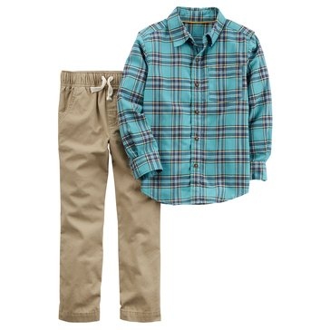 Carter's Baby Boys' 2-Piece Pants Set