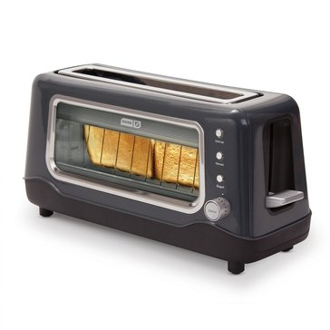 Dash Clear View Toaster, Black (DVTS501BK)