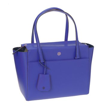 Tory Burch Parker Small Tote Songbird/RoyalNavy