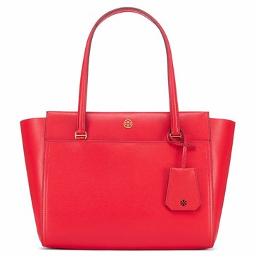 Tory Burch Parker Small Tote CherryApple/RoyalNavy