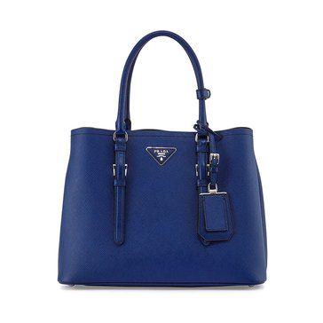 Prada Safiano Leather Tote Inchiostro Blue